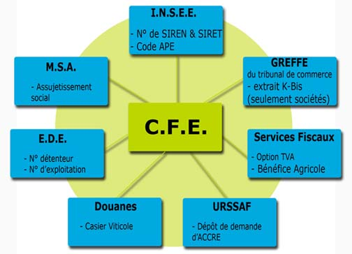 D marches administratives cfe aube for Chambre agriculture 13 cfe